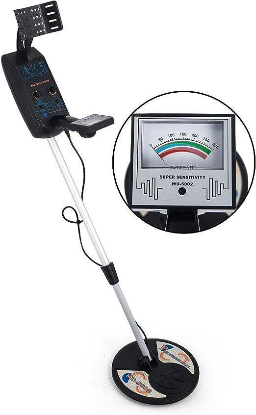 Moracle MD-5002Detector de Metales Detector de Metales Completamente Automático Detector de Metales Detector de Metales Alta Profundidad (MD-5002): Amazon.es: Jardín