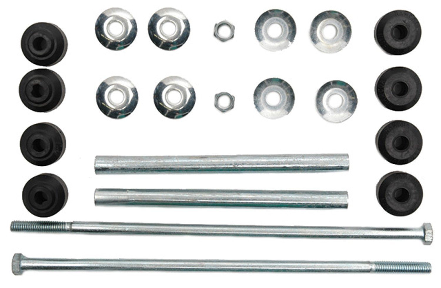 ACDelco 45G0094 Professional Front Suspension Stabilizer Bar Link Kit with Hardware