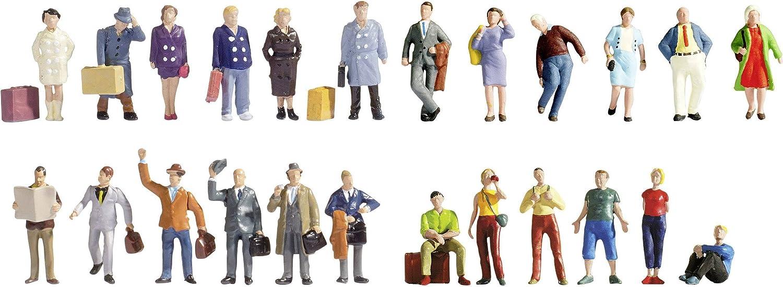大勧め NOCH HO 16101 HO Scale 1:87 24 - XL Figure Set B01M11MPP8 Travellers 24 figures B01M11MPP8, 加賀美術店:bf4cce9f --- a0267596.xsph.ru