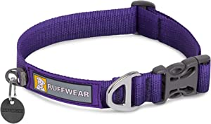 RUFFWEAR - Front Range Dog Collar, Durable and Comfortable Collar for Everyday Use