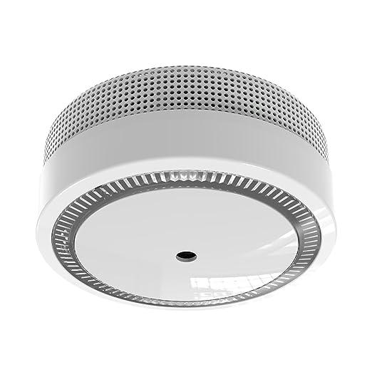 SEBSON 4x Detector de Humo NF, Mini, incluye Soporte Magnético, Batería de Litio de Larga Duración 10 Años, DIN EN 14604, VdS 3131, Mudo (10min / 10h), ...