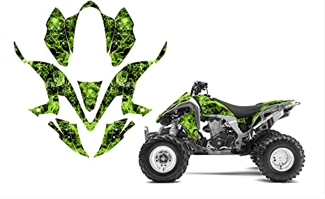 Yamaha Warrior 350 Graphics Decal Kit By Allmotorgraphics No2500 Red