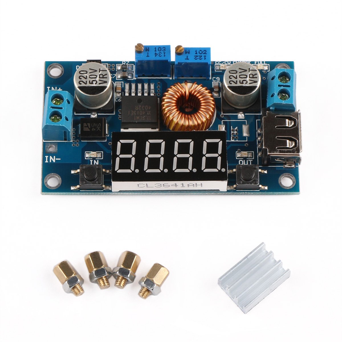 Drok 091013 Lm2596 Dc Buck Voltage Regulator 36v To 24v Adjustablecurrentlimitandoutputvoltage Powersupplycircuit 12v 5v 33v 3v Converters Constant Volt And Amp 5 125 32v 5a 75w Industrial