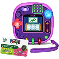 LeapFrog Rockit Twist Handheld Learning Game System, Purple and 2-Game Pack: Cookie's Sweet Treats and Dinosaur…