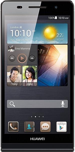 Huawei Ascend P6 - Smartphone libre Android (pantalla 4.7 pulgadas, cámara 8 Mp, 8 GB, 1.5 GHz, 1GB RAM), negro: Amazon.es: Electrónica