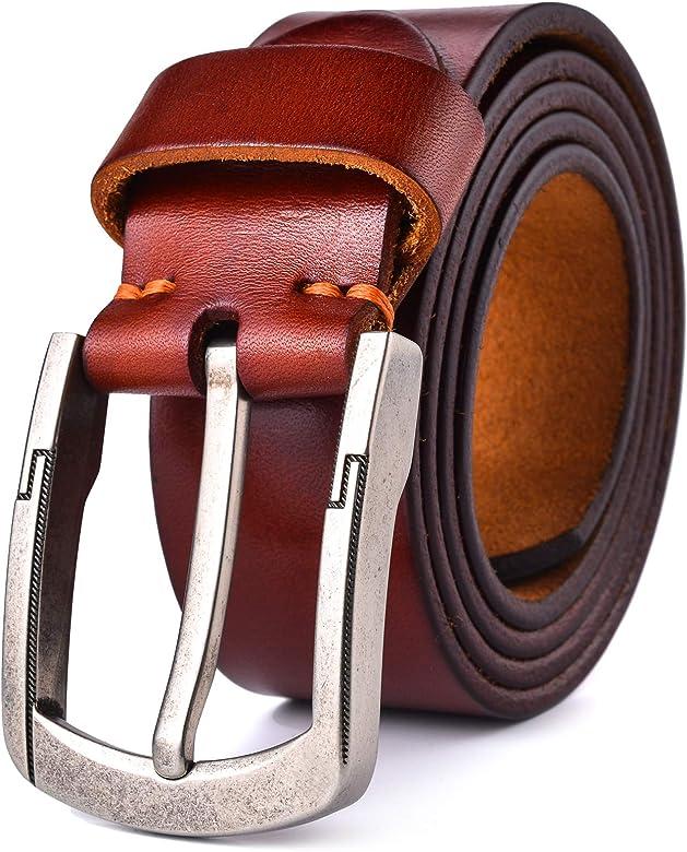 Men's Ultra Soft Genuine Leather Belt