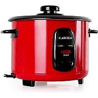 Klarstein Osaka 1.0 Rubin Red Edition - rijstkoker, elektrische rijstkoker, 1 liter, 400 watt, warmhoudfunctie…