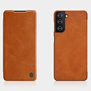 Nillkin Qin Series Leather case for Samsung Galaxy S21 Plus Brown