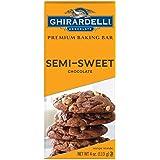 Ghirardelli Semi-Sweet Chocolate Premium Baking Bar, 4 oz