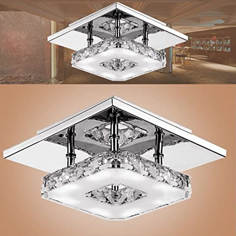 iluminación Lámparas de techo de cristal Iluminación de ...