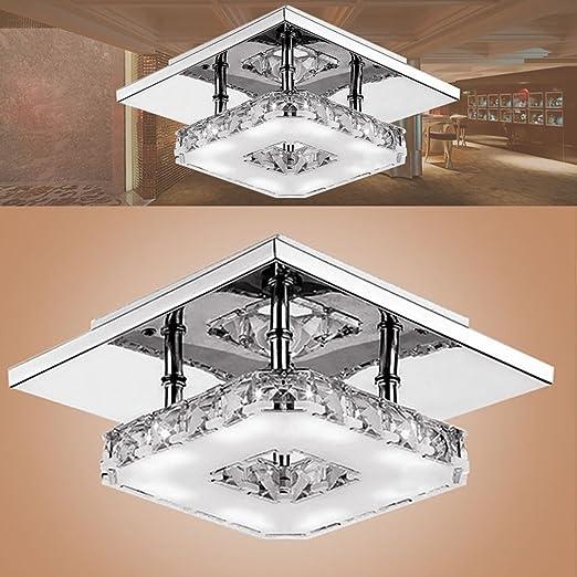 iluminación Lámparas de techo de cristal Iluminación de interior ...