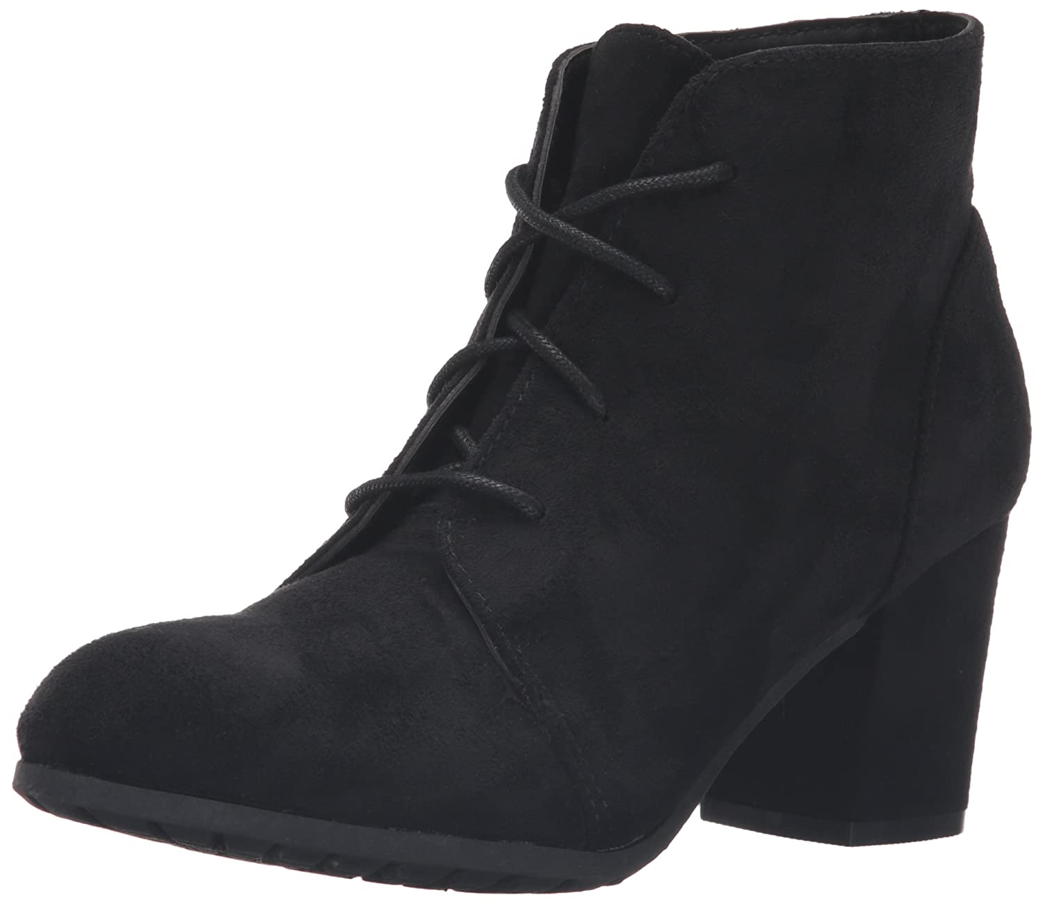 Madden Girl Women's Torch Ankle Bootie B01E9VKIO8 10 B(M) US|Black Fabric