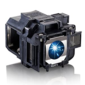 EWO'S LP88 Replacement Projector Lamp for Elplp88 Epson Powerlite Home Cinema 2040 1040 2045 740HD 640 EX3240 EX7240 EX9200 EX5250 EX5240 VS240 VS345 VS340 97H 98H 99WH 955WH X27 Lamp Bulb Replacement