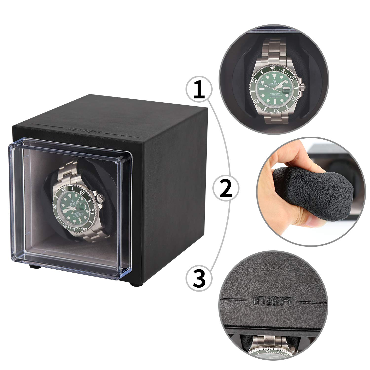 Driklux Mini Size Automatic Watch Winder for Rolex