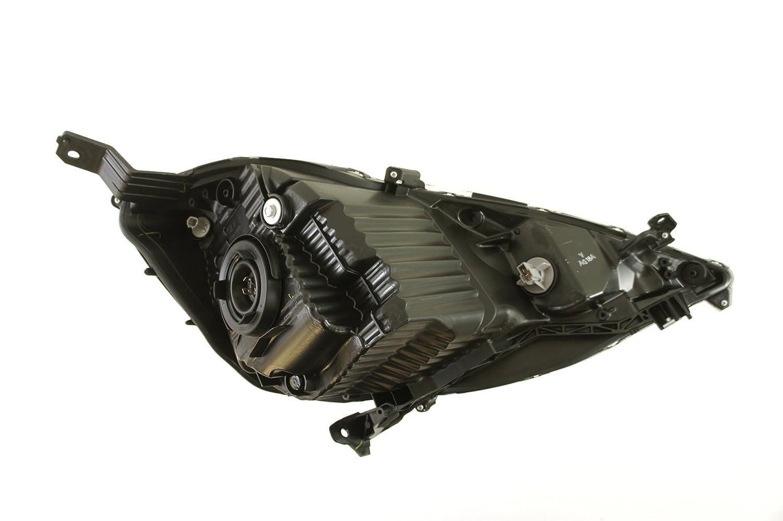 Genuine Honda Parts 33150-TK6-A11 Driver Side Headlight Assembly Composite
