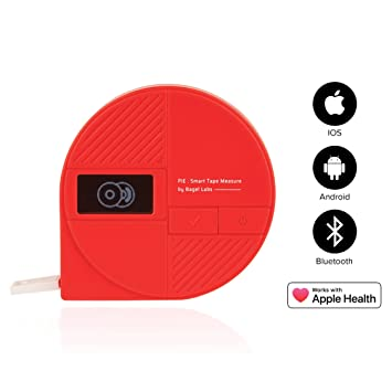 Pie by Bagel Labs Smart Tape Measure for Your Body - Easy Goal Setting for  Weight Loss, Muscle Gain, and
