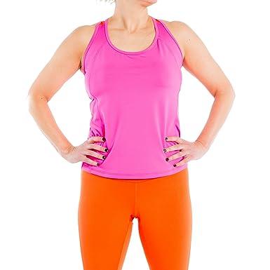 f2259becd8343 Amazon.com  Katie K Active Plus Size Tank Tops Plus Size Tank Top for Women  (L - 3XL) Full Figure Racerback Workout Tank Top  Clothing