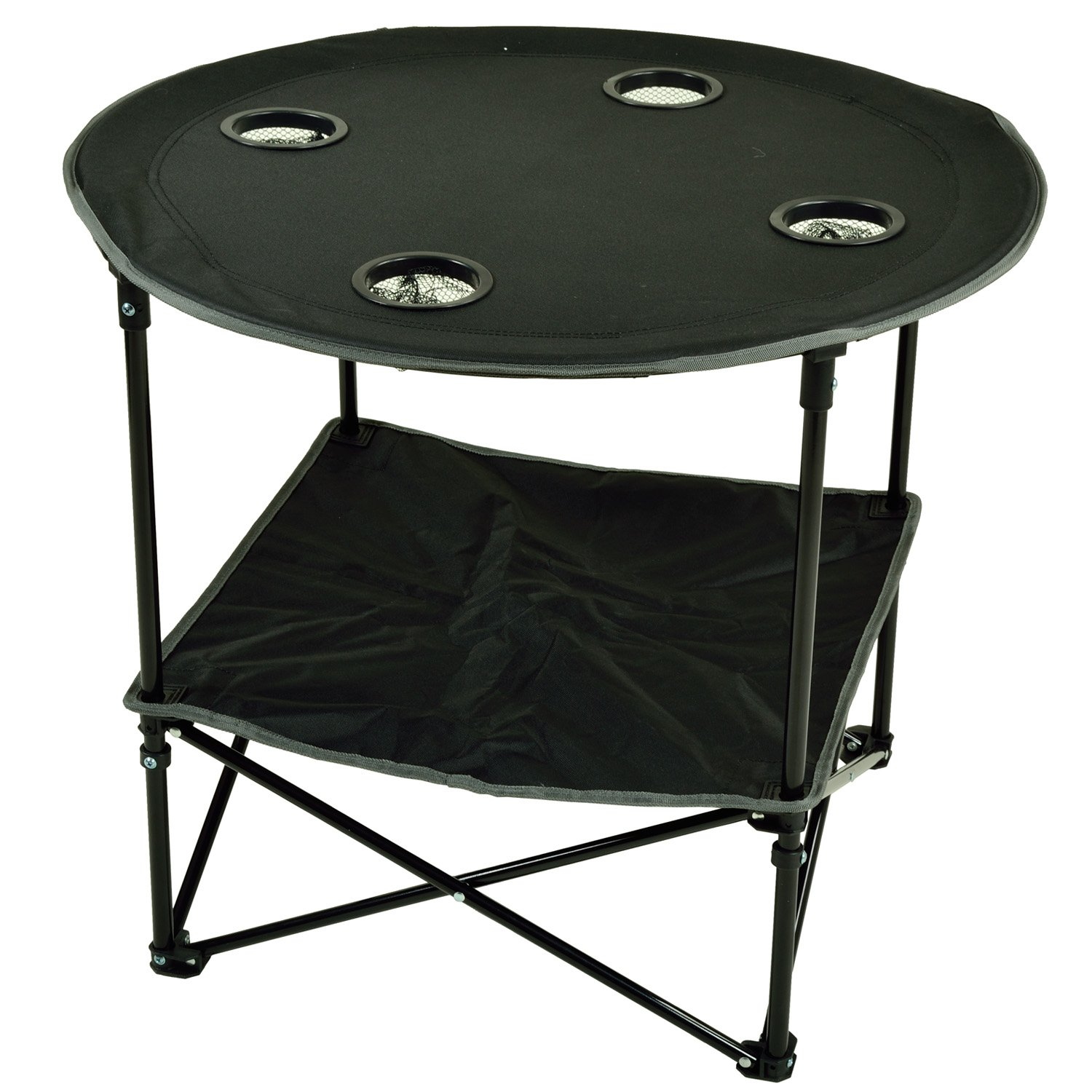 Amazon.com: Picnic At Ascot Travel Folding Table For Picnics And  Tailgating, Black: Kitchen U0026 Dining