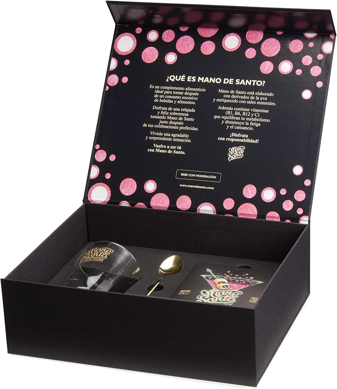 Drink Eraser Mano de Santo - Welcome Pack con 4 dosis efervescentes