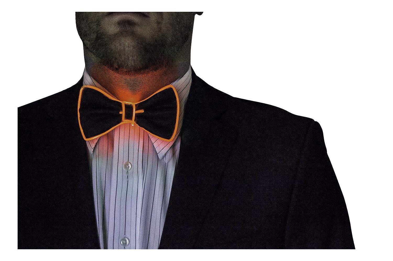 Neon Nightlife Light Up Bow Tie