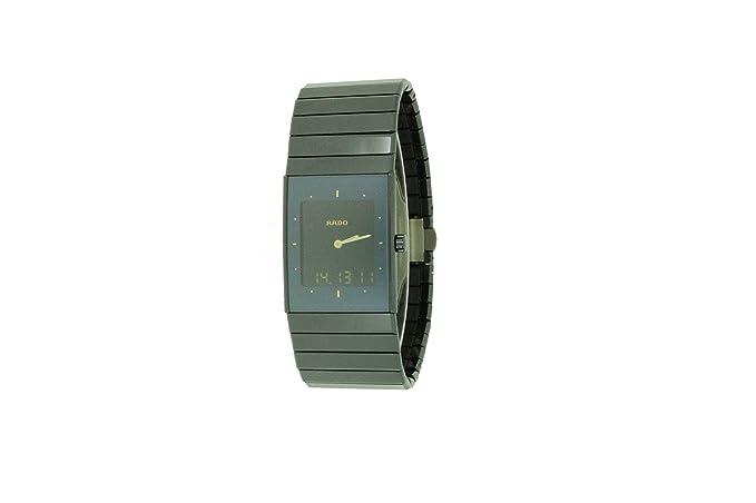 Rado - Reloj de pulsera analógico cuarzo cerámica 193.0324.3.015: Amazon.es: Relojes