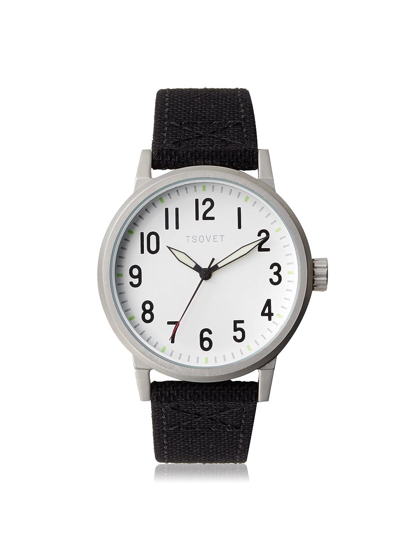 Tsovet jpt-tf40 Analog weiß Zifferblatt Herren-Armbanduhr tf111580–40