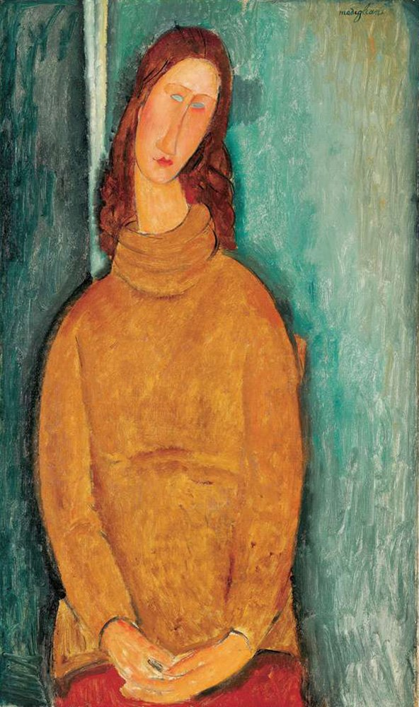 Amedeo Modigliani ジャンヌエビュテルヌの肖像Portrait of Jeanne Hébuterne 油絵 キャンバス 木枠なし 35X60cm 女性の肖像画複製画 完全に立体に複製 3D 印刷 美術品 部屋 壁掛け B07DL5QVK5 35X60 cm|Portrait Of Jeanne Hébuterne Portrait Of Jeanne Hébuterne 35X60 cm