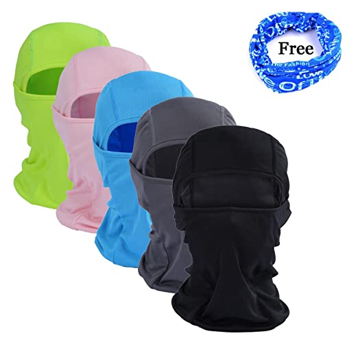 6a63e0b063ff GoFriend Multi-Purpose Balaclava Mask Outdoor Sports Face Mask for Women    Men - Ideal for Motorcycling Skiing Cycling Running Camping Hiking - Summer  or ...