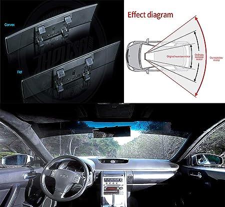 Universal Rear View Interior Car Mirror 145mm X 65mm