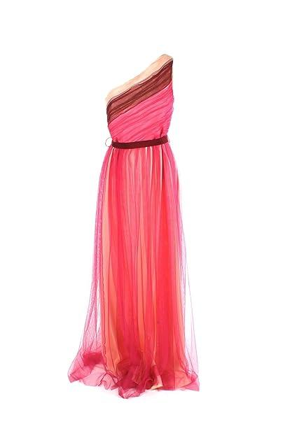 vendita professionale eccezionale gamma di stili più foto Pinko Abito Donna 40 Fuxia/Bordeaux/Nudo Ethel Primavera ...