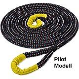 Kinetisches Seil Bruchlast 12,5 T 26 mm Off Road Kinetikseil Bergeseil PowerLine 8 m