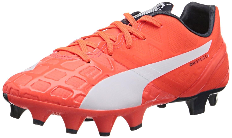 Amazon.com: PUMA Evospeed 1.4 Firm Ground JR Soccer Shoe  (Infant/Toddler/Little Kid/Big Kid): Shoes