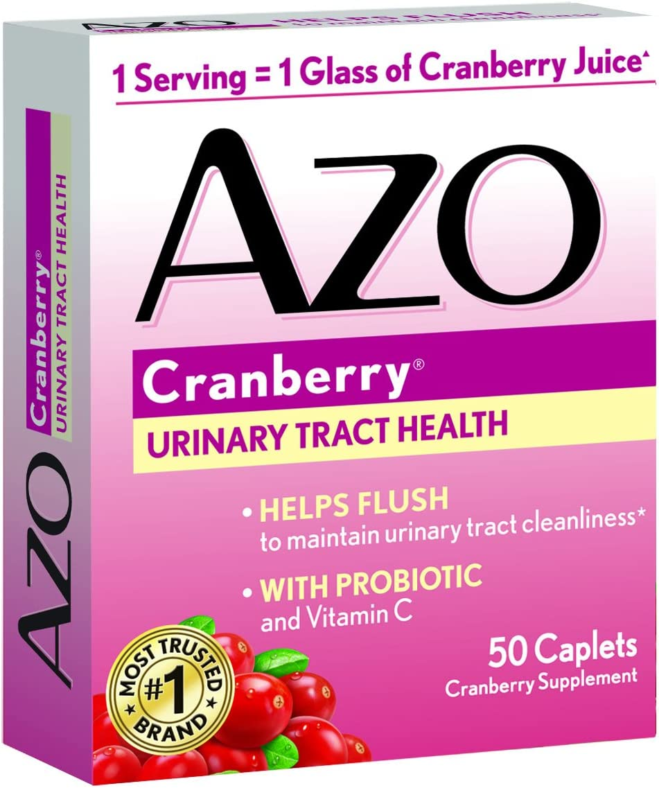 AZO All Natural Concentrated Cranberry Tablet