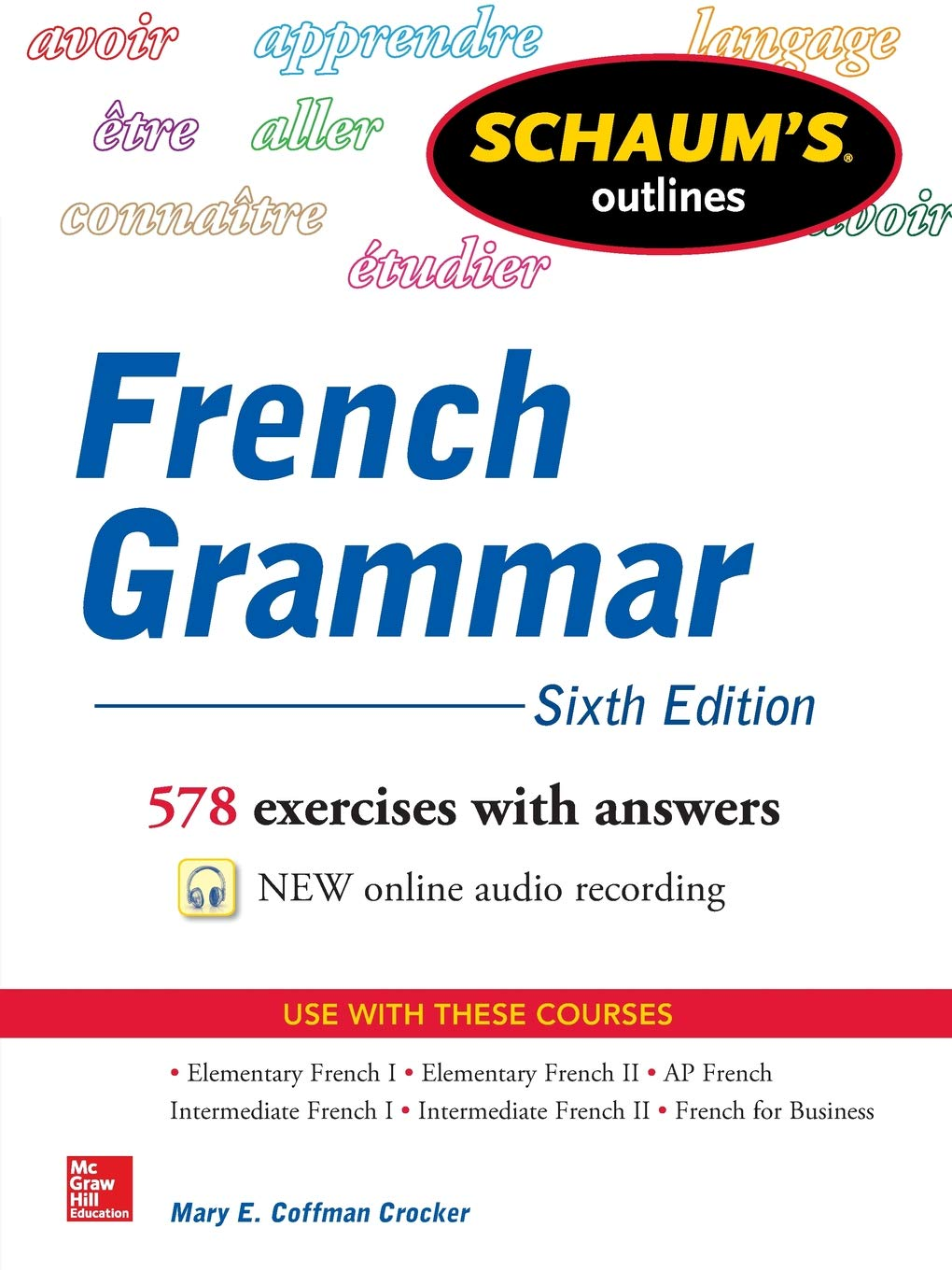Schaums Outline of French Grammar 6/E: Mary Coffman Crocker: Amazon