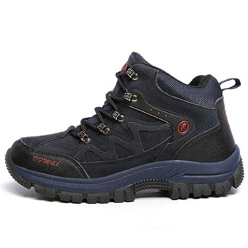 H-Mastery Botas de Senderismo para Hombre Mujer Zapatillas de Trekking Impermeables Aire Libre y Deportes Exterior Montaa Zapatos: Amazon.es: Zapatos y ...