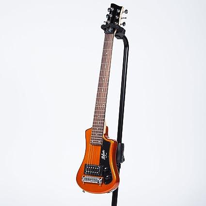 Hofner - Guitarra eléctrica de viaje, edición limitada, color ...