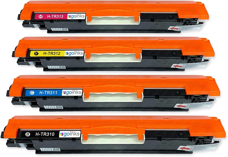 HP Colour Laserjet Pro 100 Color MFP M176N Pro M177FW Bramacartuchos Lot de/4/cartouches compatibles avec HP 130A CF350A CF352A CF351A CF353A