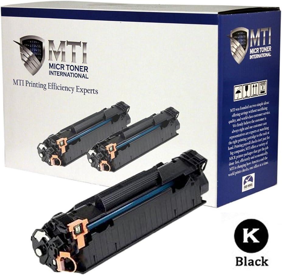 MICR Toner International Compatible MICR Cartridge Replacement for HP 78A CE278A LaserJet P1566 P1606 P1606dn M1536dnf (Black, 2-Pack)