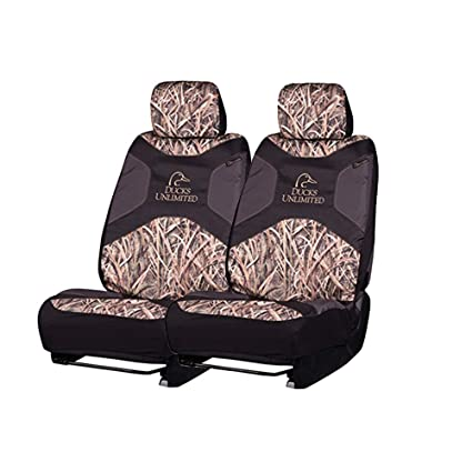 Ducks Unlimited Seat Covers >> Ducks Unlimited Camo Seat Covers Low Back Shadow Grass Blades 2 Pack