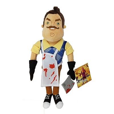 "Hello Neighbor 10"" Plush Toy - Butcher Neighbor with Tag: Toys & Games"