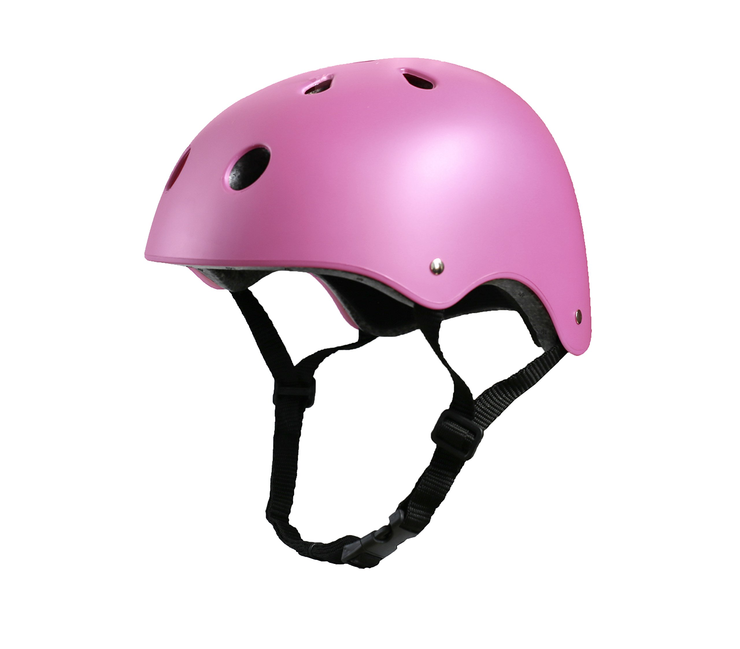 Tourdarson Adult Skateboard Helmet Specialized Certified Protection for Multi-Sports Cycling Skateboarding Scooter Roller Skate Inline Skating Rollerblading Longboard (Pink, Medium)