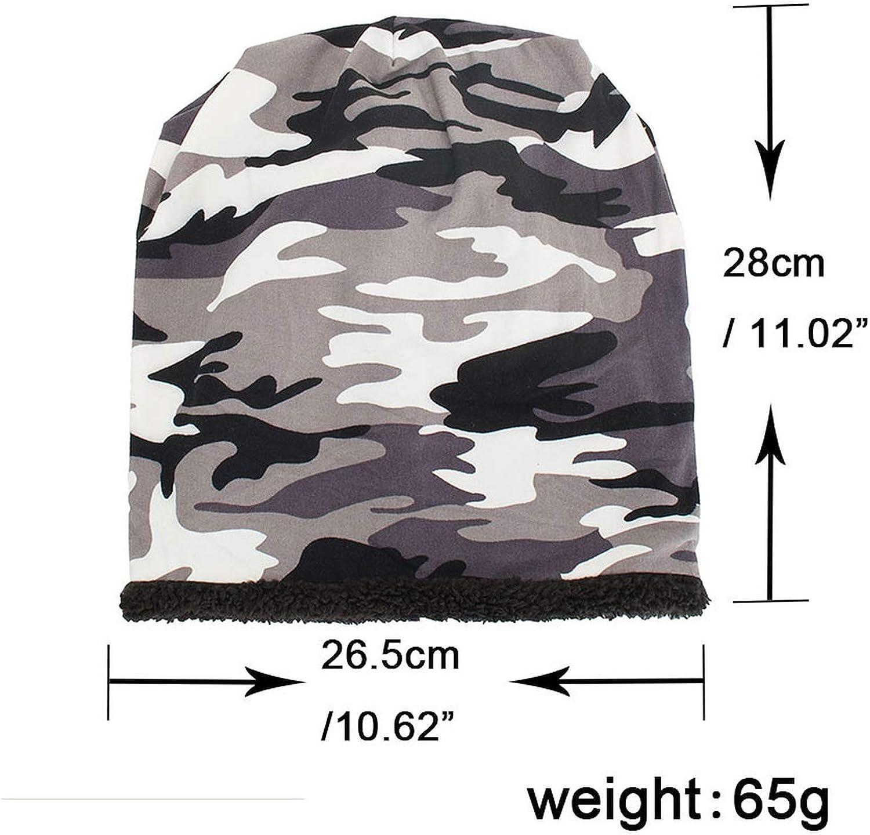 Ron Kite Winter Hats for Women Men Camouflage Print Skullies Beanie Casual Unisex Warm Cap Bonnet Femme