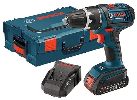 Amazon.com: Bosch dds181 – 102L 18-volt iones de litio 1/2 ...