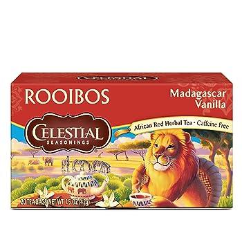 Celestial Seasonings Vanilla Red Herbal Rooibos Tea