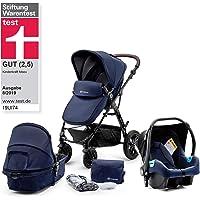 Kinderkraft Moov silla multifuncional 3en1 silla de paseo y silla de coche