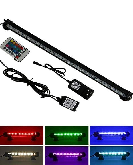 Luces para Acuarios Decoración, Cambiando de Color Luces de led para acuarios Tubos de LED