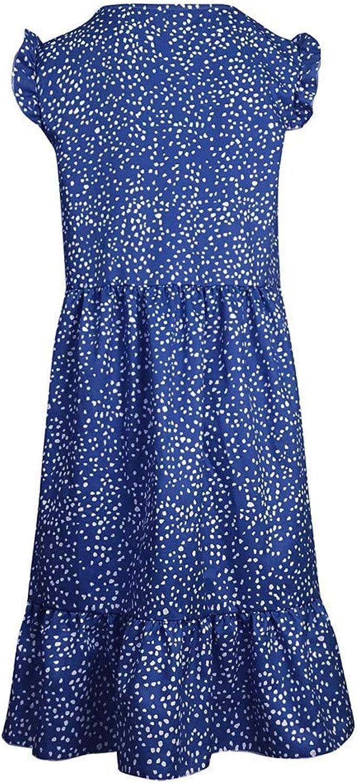 Minimum Alexandrie Chemisiers-Robe Femmes été-Robe floralem Print Bleu Foncé
