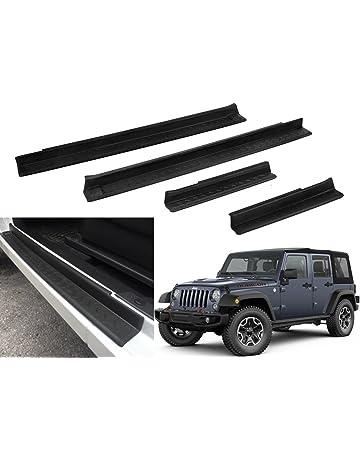 Outland 391121601 Black Door Entry Guard Set for Jeep Wrangler