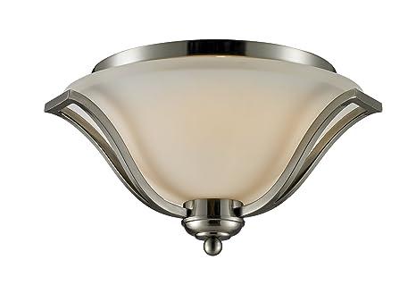 Amazon.com: Z-Lite 704 F3 Laguna 3 luz Flushmount plafón con ...