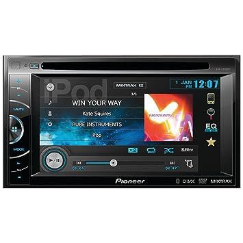 Pioneer AVH-X2500BT 200W Bluetooth Negro receptor multimedia para coche - Radio para coche (